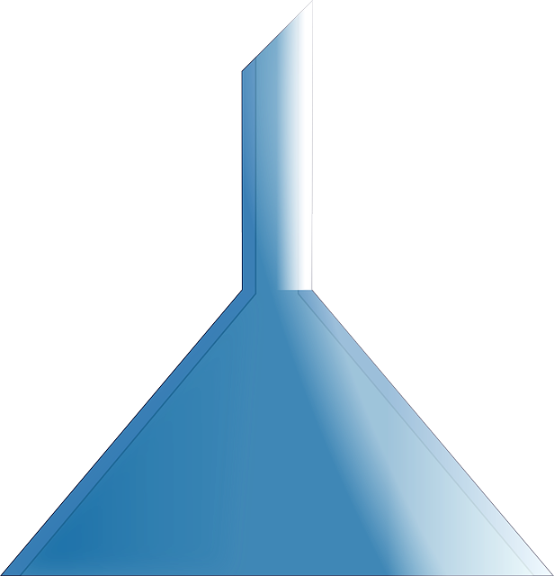 Right side up funnel